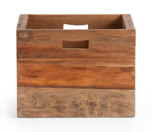 Custer Box Distressed Oak