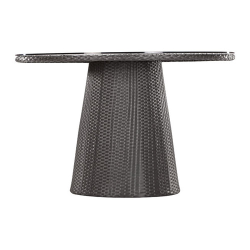 701350 Avalon Dining Table Espresso 811938019572 Wicker Modern Espresso Dining Table by  Zuo Modern Kassa Mall Houston, Texas Best Design Furniture Store Serving Houston, The Woodlands, Katy, Sugar Land, Humble, Spring Branch and Conroe