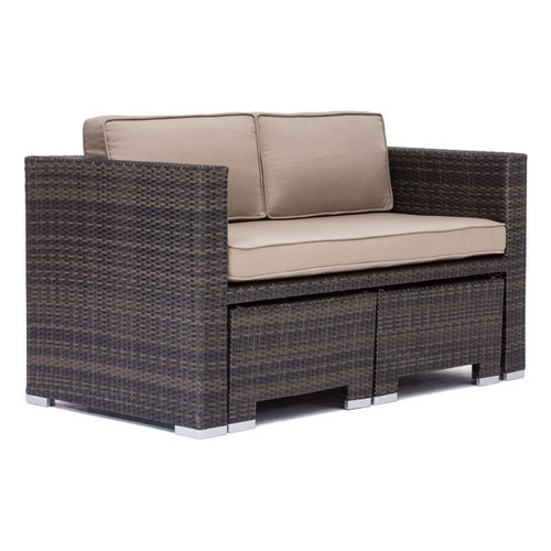 703065 Deep Water Loveseat Dining Set Brown 816226023033 Wicker Modern Brown Loveseat Dining Set by  Zuo Modern Kassa Mall Houston, Texas Best Design Furniture Store Serving Houston, The Woodlands, Katy, Sugar Land, Humble, Spring Branch and Conroe