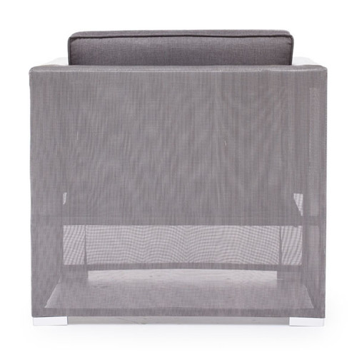 Clear Water Bay Arm Chair Gray