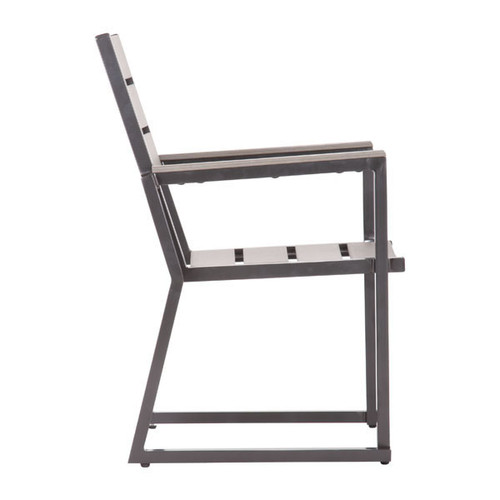 703221 Megapolis Dining Chair Gray 816226025822 Special Material Modern Gray Dining Chair by  Zuo Modern Kassa Mall Houston, Texas Best Design Furniture Store Serving Houston, The Woodlands, Katy, Sugar Land, Humble, Spring Branch and Conroe