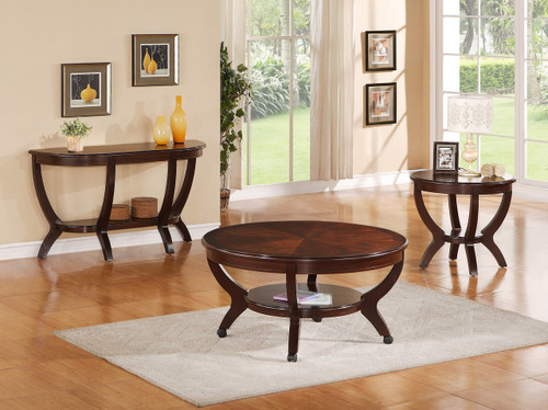 Brownstown Coffee Table and 2 Side table