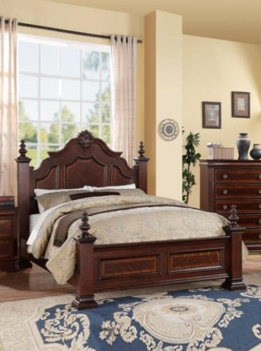 CHARLOTTE Queen Size Bed