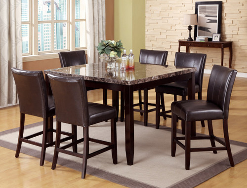 FERRARA COUNTER HEIGHT DINING TABLE TOP 5 Piece Set