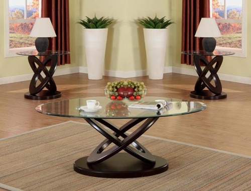 Cyclone Oval Coffee Table
