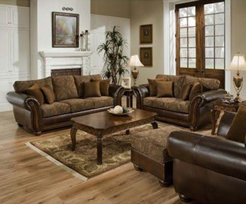 Ranger Brown 2PCs Living Room Set