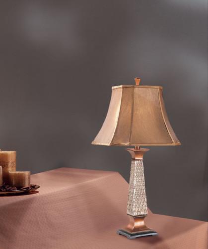 RESIN TABLE LAMP(30'H)
