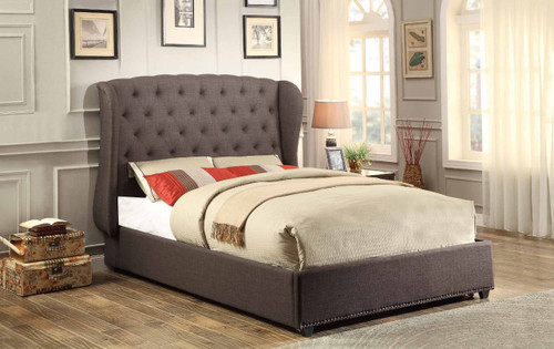 CHARDON QUEEN SIZE BED (LOW PROFILE OR BUNKIE BOARD REQUIRED)