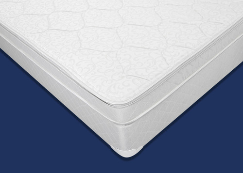 ERIN BLACK LEATHER BED FRAME MATTRESS AND BOXSPRING