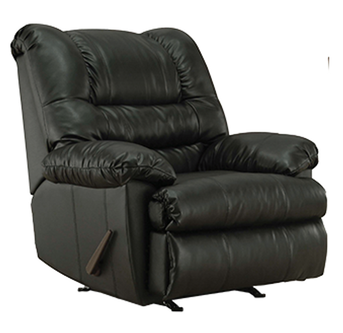 SIMMONS GENEVA ROCKER RECLINER (ONYX) - U609ON