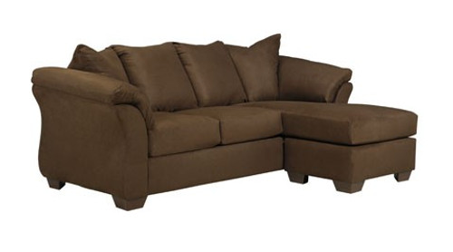 FULL Size Sectional Sleeper Sofa-Chaise (Cafe)