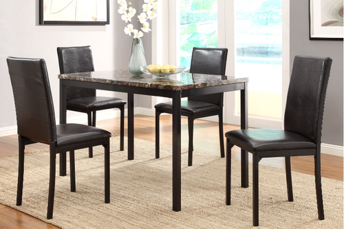 Tempe Collection 5 Pcs Dining Set