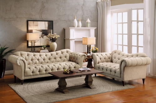 St. Claire Collection 2 Pcs Living Room Set