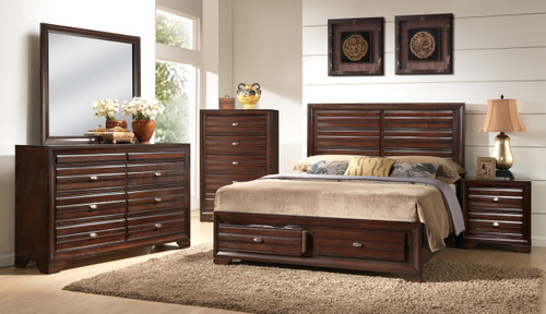 Stella Storage Collection Complete Bedroom Set