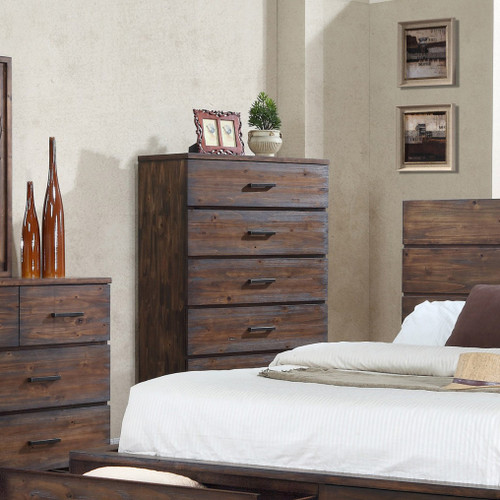 CRANSTON CHEST OF DRAWERS (5)