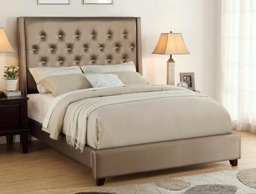 FONTAINE BED in Champagne Finish