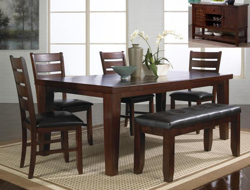 BARDSTOWN DINING TABLE TOP 5 Piece Set