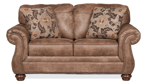 2PC Ashley Larkin Sofa and Loveseat Set - 319