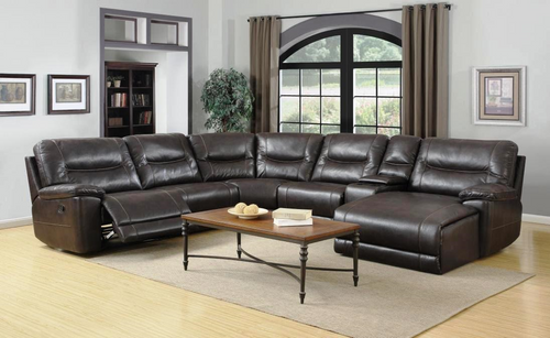 7PC BENNINGTON SECTIONAL WITH CHAISE