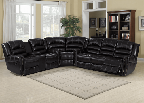 3PC Texas Sectional (Dark Espresso)