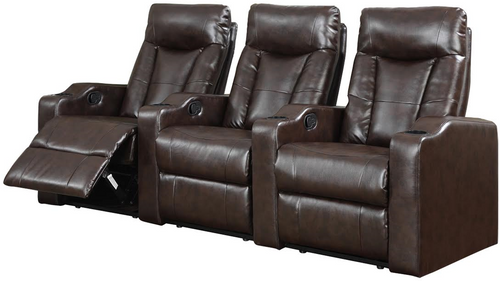 3PC MADISON SQUARE Home Theatre (Espresso) - MADISON SQUARE-ESPRESSO