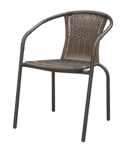 BROWN STACKABLE CHAIR