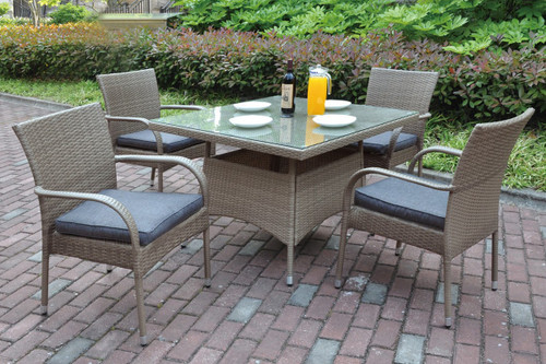 4 SEATING OUTDOOR PATIO TABLE SET