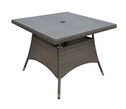 "OUTDOOR SQUARE TABLE 40"" X 40"" X 29""H"