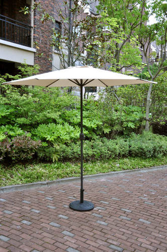 OUTDOOR UMBRELLA BEIGE