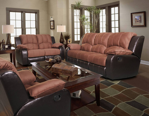 Hannah 3 PC Sofa Loveseat And Recliner Set