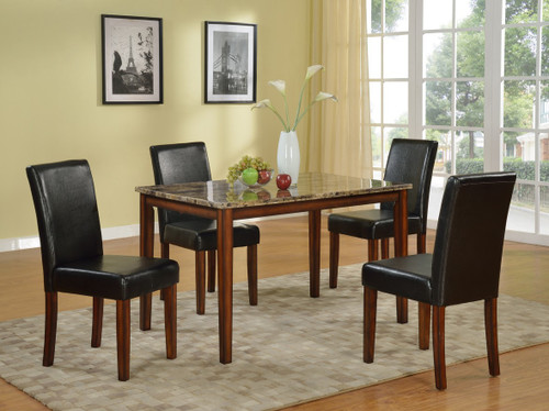 GABRIELE COUNTER HEIGHT TABLE TOP 5 PC Set