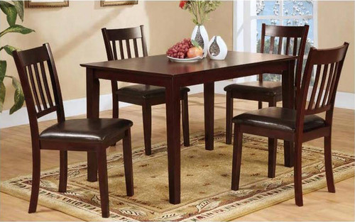 GIUSEPPE COUNTER HEIGHT TABLE TOP 5 PC Set