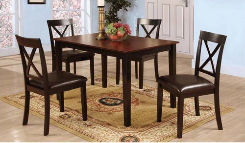 FEDERICO COUNTER HEIGHT TABLE TOP 5 PC Set