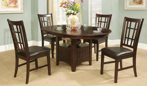EDOARDO COUNTER HEIGHT TABLE TOP 5 PC Set