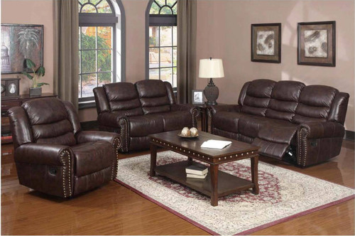 FILIPPO SOFA LOVESEAT WITH CHAIR 3 PC Set