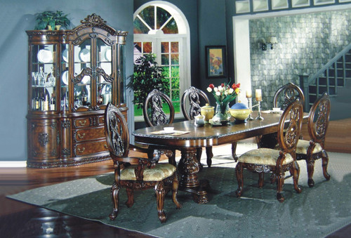 ANGELO DINING TABLE TOP 7 PC Set