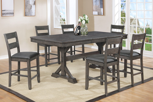 Sable Counter Height Table Top 5 PC Set