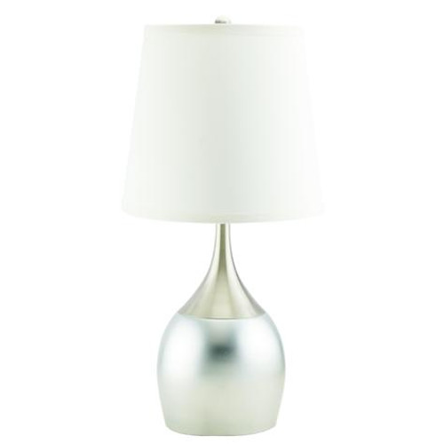 TABLE TOUCH LAMP-Silver (SET OF 2) - 6238T-3SN