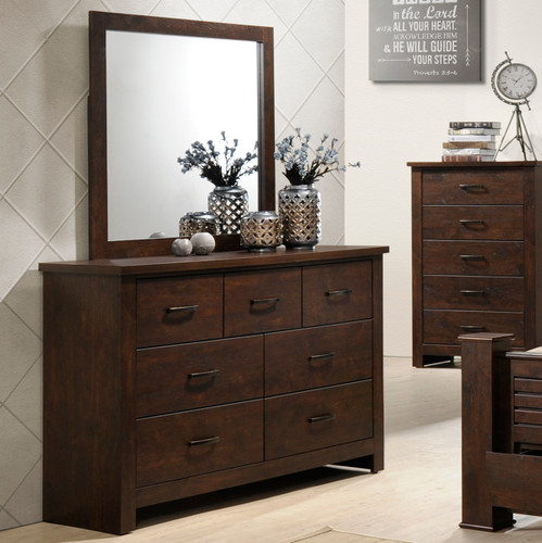 CLINTON DRESSER-CHOCOLATE-B5710/1