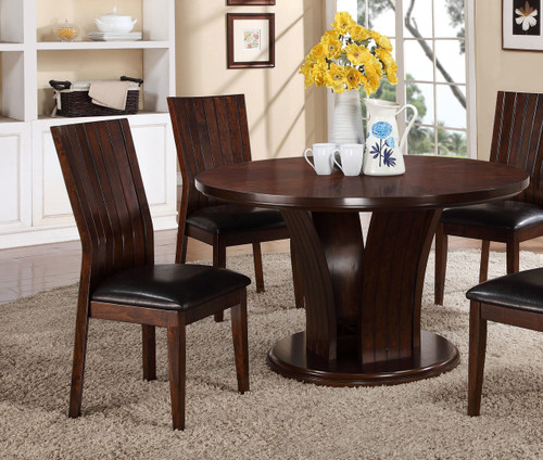 DARIA SIDE CHAIR ESPRESSO 2 PCS SET