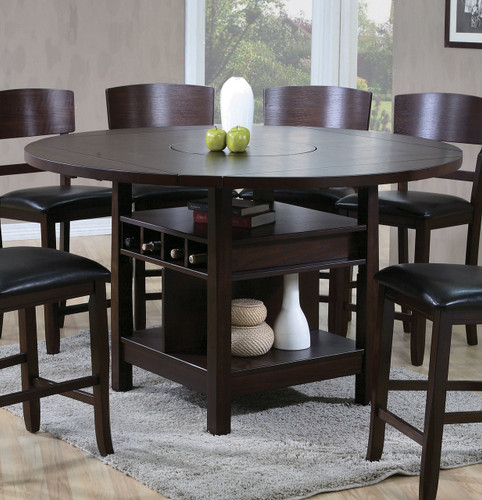 CONNER ESPRESSO COUNTER HEIGHT TABLE-2849T/6060