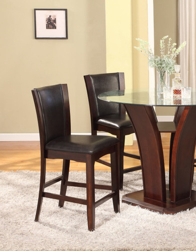 CAMELIA COUNTER HEIGHT CHAIR 2 PCS SET-1710S/24/ESP