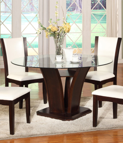 CAMELIA ROUND DINING TABLE-1210T/54/BASE