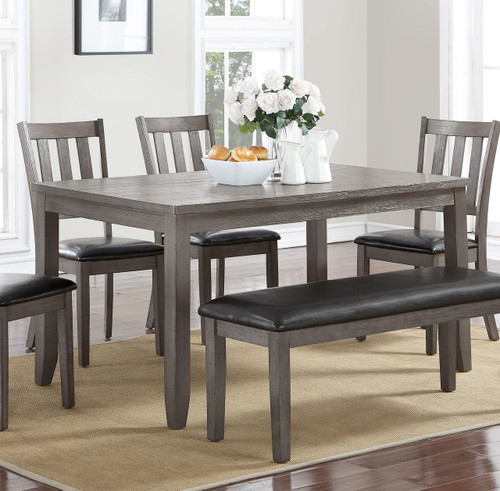 COSGROVE DINING TABLE GREY