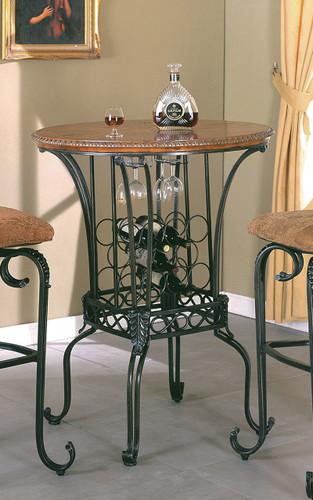 "Alyssa 35"" Round Bar Table"