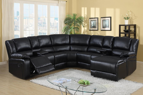SORRENTO SECTIONAL BLACK 5PCS SET-Sorrento-Black