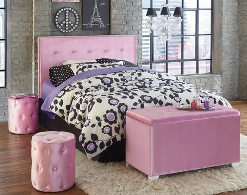 YOUNG PARISIAN PINK BED-854
