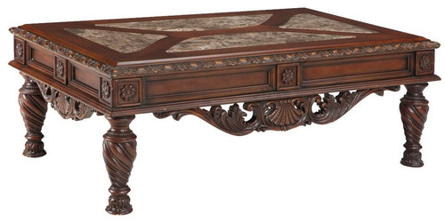 CHRISTOPHER WOODEN COFFEE TABLE-T963