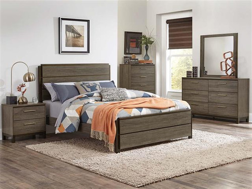 VESTAVIA COLLECTION BEDROOM 4 PCS SET-1936