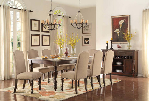 BENWICK COLLECTION DINING TABLE 5 PCS SET